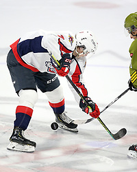 Tyler Angle of the Windsor Spitfires. Photo by Luke Durda/OHL Images