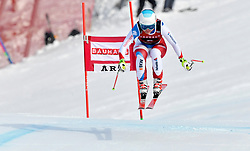 08.03.2017, Are, SWE, FIS Ski Alpin Junioren WM, Are 2017, Damen, Abfahrt, im Bild Katja Grossmann, SUI, silver // during ladie's Downhill of the FIS Junior World Ski Championships 2017. Are, Sweden on 2017/03/08. EXPA Pictures © 2017, PhotoCredit: EXPA/ Nisse<br /> <br /> *****ATTENTION - OUT of SWE*****