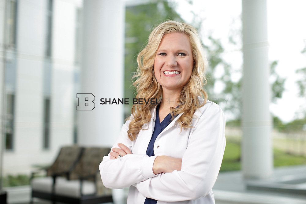 4/26/17 2:40:33 PM -- Heather Meadows, RN for a SFHS advertisement. <br /> <br /> Photo by Shane Bevel