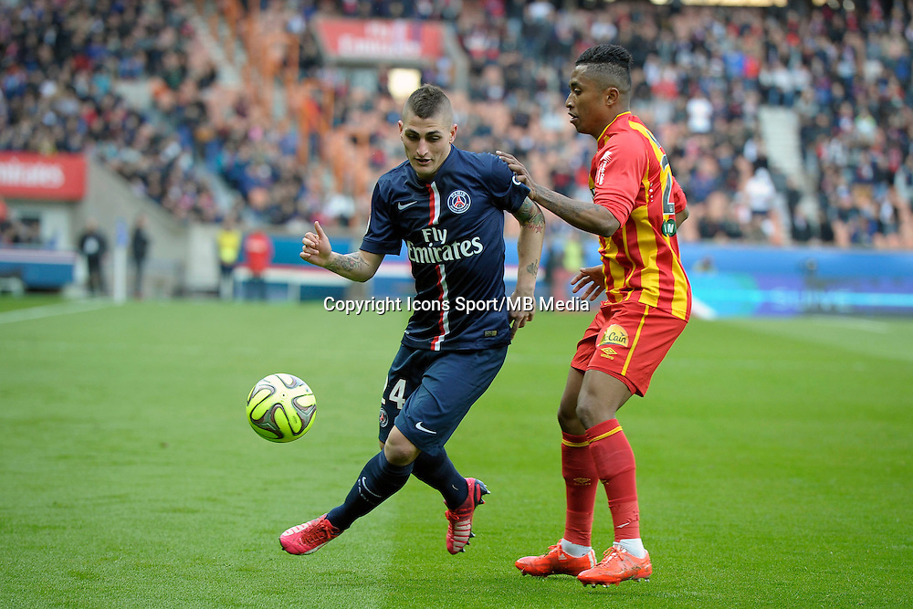 Marco Verratti  - 07.03.2015 -   PSG / Lens -  28eme journee de Ligue 1 <br />