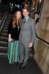 BEN & MARY-CLARE ELLIOT at the Wild for WSPA dinner in aid of the charity World Society for the Protection of Animals held at Under The Bridge, Stamford Bridge, Fulham Road, London on 23rd February 2012.