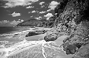A remote beach in Maunabo