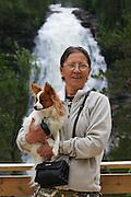 Henfallet is the biggest waterfall in Sør-Trøndelag, a coun ty of Mid-Norway. Henfallet er Sør-Trøndelags høyeste fossefall (90 meter).<br /> Elva Hena har sitt utspring i Veunsjøen, på grensa mot Holtålen. Flotte naturforhold for tur både sommer og vinter i Tydal.