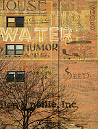 Ghost signs from the early 1900's.  Omaha, Nebraska.