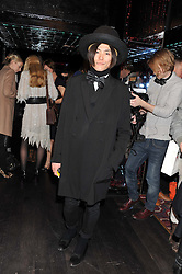 YU MASUI at a party to celebrate the launch of the Marie Claire Runway Magazine held at Le Baron a The Embassy, Old Burlington Street, London on 1st February 2012.