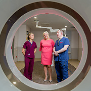 29.05. 2017.                                             <br /> IRELAND'S largest and most advanced Emergency Department has opened this Monday at University Hospital Limerick.<br /> <br /> Pictured at the new CT Scanner in the Emergency Department were, Nuala Lynch, Radiation Safety Officer (RSO), UHL CEO Colette Cowan and Dr. Fergal Cummins, Consultant in Emergency Medicine.<br /> <br /> <br /> <br /> A €24 million project (development and equipment costs), the ED spans 3,850 square metres of floor space, over three times the size of the old department. In 2016, UHL had the busiest ED in the country, with over 64,000 attendances. Picture: Alan Place