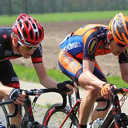 61e Ronde van Overijssel 105 Kasper Klostergaard en Jeroen Janssen