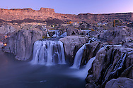 Idaho Falls at dawn, Twin Falls, Idaho, USA