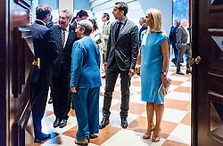 28.07.2016, Festspielhaus, Salzburg, AUT, Salzburger Festspiele, Eroeffnungsakt, im Bild Ex Bundespräsident Heinz Fischer mit Ehefrau Margit Fischer, Bundeskanzler Christian Kern (SPOe) mit seiner Frau Evelyn Kern // Former President Heinz Fischer and his wife Margit Fischer, Federal Chancellor Christian Kern (SPOe) with his wife Evelyn during the Opening Ceremony of the Salzburg Festival, it takes place from 22 July to 31 August 2016, at the Festspielhaus in Salzburg, Austria on 2016/07/28. EXPA Pictures © 2016, PhotoCredit: EXPA/ JFK