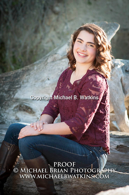 High School Senior Samantha Martin conducts a Senior portrait session Oct. 23, 2015 at Deception Pass State Park in Oak Harbor, Wash. Photo by Michael B. Watkins (Michael Brian Photography) www.michaelbwatkins.com