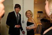 NICHOLAS HOLT; JOANNA PAGE, The Elle Style Awards 2009, The Big Sky Studios, Caledonian Road. London. February 9 2009.