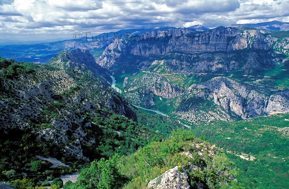 France - Provence - Alpes de Haute Provence - Gorges du Verdon