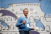 2013/05/23 Roma, il Movimento 5 Stelle chiude la campagna elettorale per le comunali. Nella foto Marcello De Vito..Rome, M5S (five stars movement) closes his electoral campaign for mayor. In the picture Marcello De Vito - © PIERPAOLO SCAVUZZO