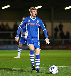 Andy Cannon of Rochdale  - Mandatory byline: Matt McNulty/JMP - 07966386802 - 29/09/2015 - FOOTBALL - Spotland Stadium -Rochdale,England - Rochdale v Shrewsbury - SkyBet League One
