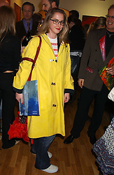 DAISY DE VILLENEUVE at an exhibition of art by Jeffrey Kroll entitled Imirage held at the Arndean Gallery, Cork Street, London on 19th October 2005.<br />