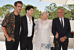 'The Aspern Papers' photocall during the 75th Venice Film Festival. 30 Aug 2018 Pictured: Jon Kortajarena, Julien Landais, Vanessa Redgrave, Alberto Barbera. Photo credit: M. Angeles Salvador/MEGA TheMegaAgency.com +1 888 505 6342