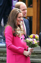 William, Duke of Cambridge and Kate, Duchess of Cambridge at Christ Church Gipsy Hill in south east London, UK. 27/03/2015<br /> BYLINE MUST READ : JAMESY/GOTCHA IMAGES<br /> <br /> Copyright by © Gotcha Images Ltd. All rights reserved.<br /> Usage of this image is conditional upon the acceptance <br /> of Gotcha Images Ltd, terms and conditions available at<br /> www.gotchaimages.com