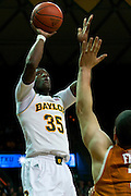 WACO, TX - JANUARY 25: Taurean Prince #35 of the Baylor Bears drives to the basket against the Texas Longhorns on January 25, 2014 at the Ferrell Center in Waco, Texas.  (Photo by Cooper Neill/Getty Images) *** Local Caption *** Taurean Prince