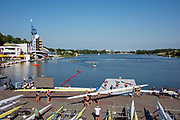 Poznan, POLAND, 22nd June 2019, Saturday, Morning Heats, Views Boat Park,  FISA World Rowing Cup II, Malta Lake Course, © Peter SPURRIER/Intersport Images,<br /> <br /> 07:47:05