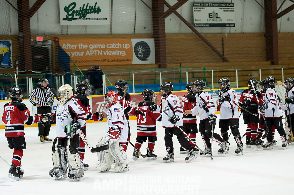 Hockey Day in Whitehorse - PEEWEE A MUSTANGS vs JUNEAU