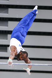 05-04-2015 SLO: World Challenge Cup Gymnastics, Ljubljana<br /> Axel Augis competes in Parallel Bar during Final of Artistic Gymnastics World Challenge Cup Ljubljana, on April 5, 2015 in Arena Stozice, Ljubljana, Slovenia. <br /> Photo by Morgan Kristan / RHF Agency
