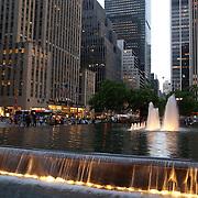 New York city street scene. NY, USA.