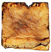 old and browned paper