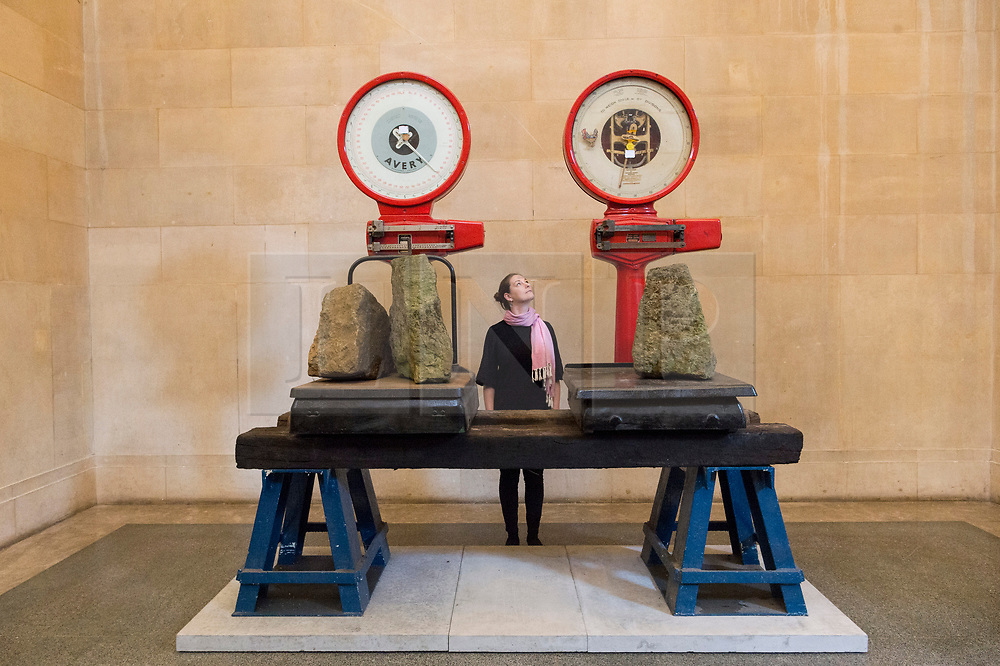 © Licensed to London News Pictures. 18/03/2019. London, UK. Visitors view artwork titled The Asset Strippers by artist Mike Nelson  showing in the Duvee Galleries of The Tate Britain. Photo credit: Ray Tang/LNP