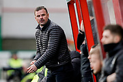 Swindon Town manager Richie Wellens during the EFL Sky Bet League 2 match between Swindon Town and Lincoln City at the County Ground, Swindon, England on 12 January 2019.