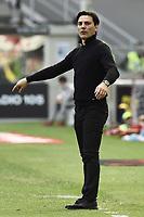 Vincenzo Montella<br /> Milano 09-04-2017, Stadio Giuseppe Meazza, Football Calcio 2016/2017 Serie A, Milan - Palermo, Foto Image Sport/Insidefoto