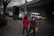 17 Mars 2012; 4°C, vers 17h30 - Pékin, sur le troisième périphérique Est.