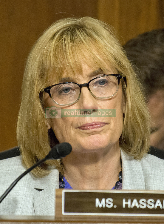 July 19, 2017 - Washington, District of Columbia, United States of America - United States Senator Maggie Hassan (Democrat of New Hampshire) listens as the US Senate Committee on Commerce, Science, and Transportation conducts hearings to examine the nominations of Ajit Varadaraj Pai, Jessica Rosenworcel, and Brendan Carr, each to be a Member of the Federal Communications Commission on Capitol Hill in Washington, DC on Wednesday, July 19, 2017..Credit: Ron Sachs / CNP (Credit Image: © Ron Sachs/CNP via ZUMA Wire)