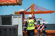 GAC Employee supervising operations