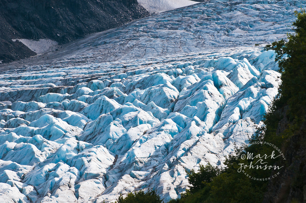 Exit Glacier Kenai Fjords National Park Seward Alaska Mark A