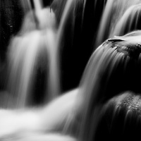 Waterfall in Lao