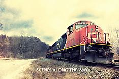 Scenes along the way.