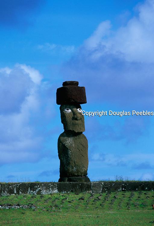 Tahi Archeological Site, Restored 1988, Easter Island(Rapa Nui)<br />