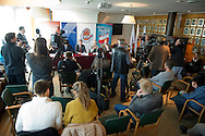 General view during press conference before National Day of Sport 2013 at Olympic Centre in Warsaw on October 17, 2013.<br /> <br /> Poland, Warsaw, October 17, 2013<br /> <br /> Picture also available in RAW (NEF) or TIFF format on special request.<br /> <br /> For editorial use only. Any commercial or promotional use requires permission.<br /> <br /> Mandatory credit:<br /> Photo by © Adam Nurkiewicz / Mediasport