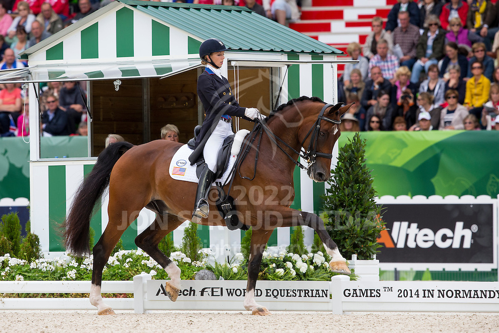 Laura Graves, (USA), Verdades - Grand Prix Special Dressage - Alltech FEI World Equestrian Games&trade; 2014 - Normandy, France.<br /> &copy; Hippo Foto Team - Leanjo de Koster<br /> 25/06/14
