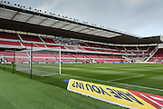 Stadium shot during the Sky Bet Championship match between Middlesbrough and Ipswich Town at the Riverside Stadium, Middlesbrough, England on 23 April 2016. Photo by Simon Davies.