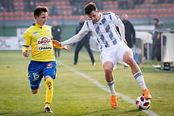 Brecl and Šušnjara during football match between NŠ Mura and NK Celje in 18th Round of Prva liga Telekom Slovenije 2018/19, on December 2, 2018 in Fazanerija, Murska Sobota, Slovenia. Photo by Blaž Weindorfer / Sportida