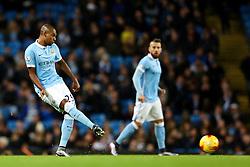 Fernandinho of Manchester City  - Mandatory byline: Matt McNulty/JMP - 01/12/2015 - Football - Etihad Stadium - Manchester, England - Manchester City v Hull City - Capital One Cup - Quarter-final