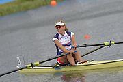 Eton Dorney, Windsor, Great Britain,..2012 London Olympic Regatta, Dorney Lake. Eton Rowing Centre, Berkshire.  Dorney Lake.   ..Description  -  Women's Single Sculls Sculls  CZE W1X Mirka KNAPKOVA. ...11:46:49   Thursday  02/08/2012   [Mandatory Credit: Peter Spurrier/Intersport Images]  .