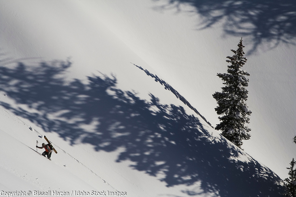 mike gimmeson backcountry skiing / hiking in wyoming