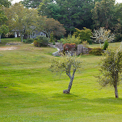 The property at the future headquarters of the Wildlands Trust in Plymouth, Massachusetts.