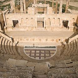 Roman ruins of Jerash, Jordan, Asia.