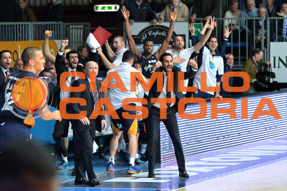 DESCRIZIONE : Cant&ugrave; Lega A 2014-15Acqua Vitasnella Cant&ugrave; Acea Roma<br /> GIOCATORE :  Federico Fuca'<br /> CATEGORIA : Esultanza<br /> SQUADRA : Acea Roma<br /> EVENTO : Campionato Lega A 2014-2015<br /> GARA : Acqua Vitasnella Cant&ugrave; Acea Roma<br /> DATA : 11/01/2015<br /> SPORT : Pallacanestro <br /> AUTORE : Agenzia Ciamillo-Castoria/I.Mancini<br /> Galleria : Lega Basket A 2013-2014  <br /> Fotonotizia : Cant&ugrave; Lega A 2013-2014 Acqua Vitasnella Cant&ugrave; Acea Roma<br /> Predefinita :