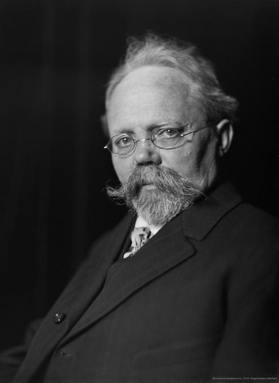 Engelbert Humperdinck, professor and composer, 1912