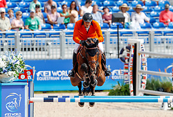 Houtzager Marc, NED, Sterrehofs Calimero<br /> World Equestrian Games - Tryon 2018<br /> © Hippo Foto - Dirk Caremans<br /> 19/09/18