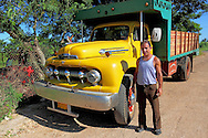 Truck in Bejucal, Mayabeque, Cuba.